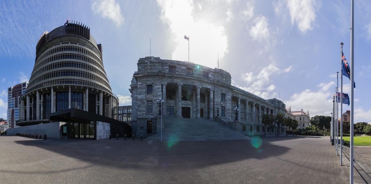 Neuseeland - Nordinsel - Wellington - Parlament