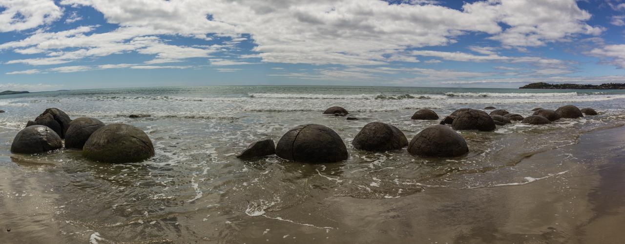 Neuseeland - Moeraki Boulders