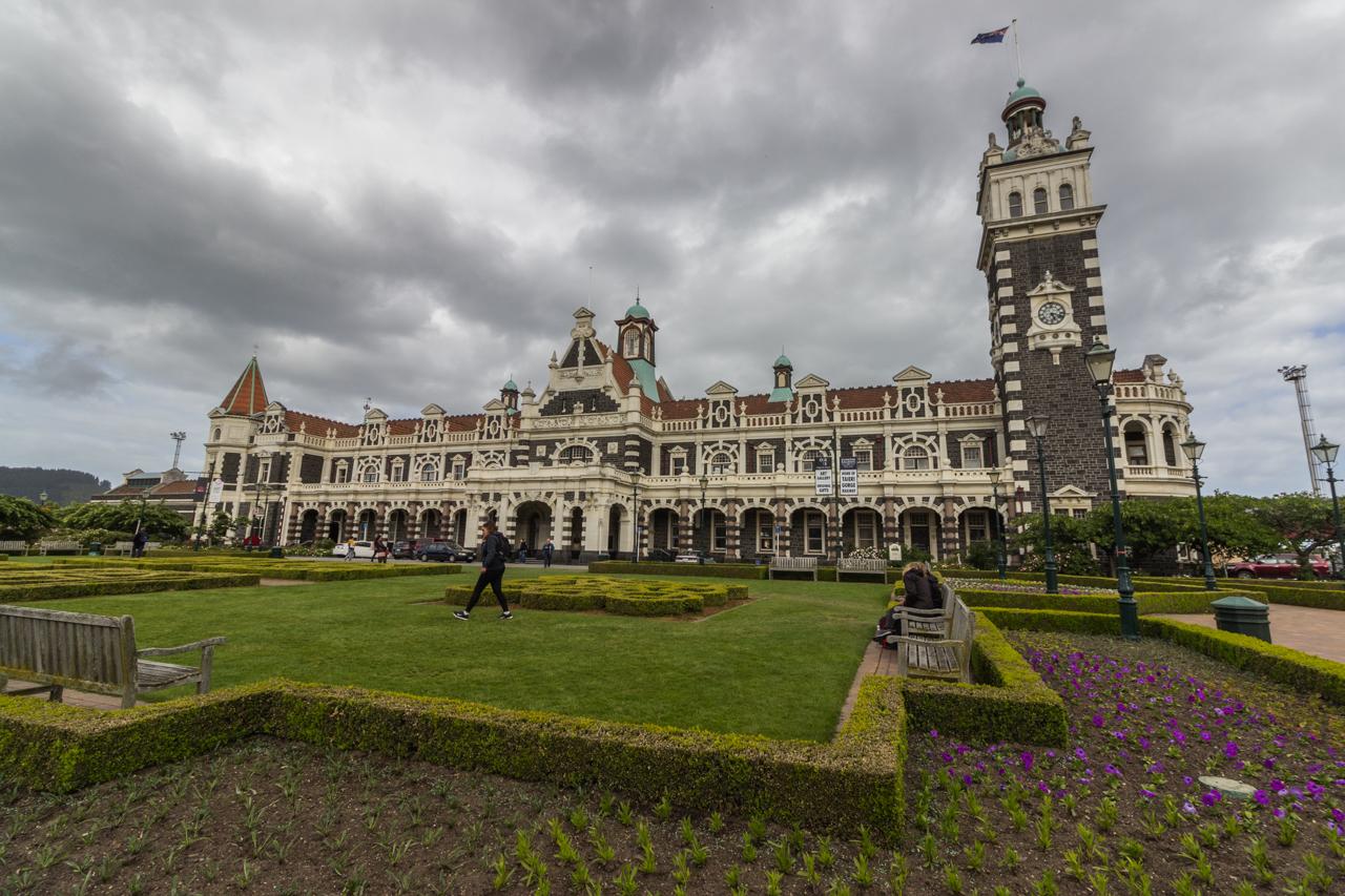 Neuseeland - Dunedin - Bahnhof