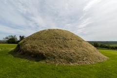 Irland -  Brú-na-Bóinne-Komplex - Knowth