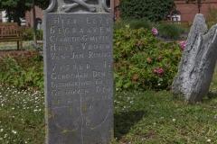 Borkum - Walfänger Freidhof