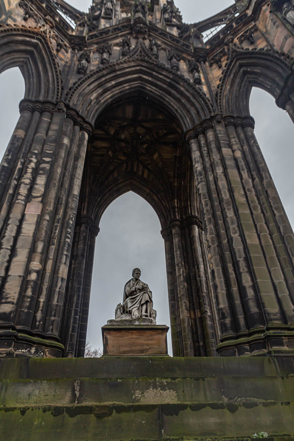 Schottland - Edinburgh - Scott Monument