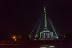 Slowakei -  Bratilava - Gedenkstätte Slavín
