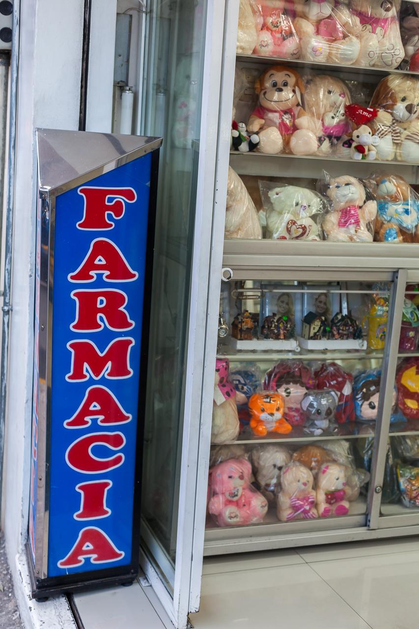 Ambato - Teddybären in der Apotheke