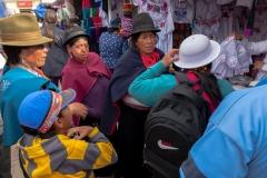 Riobamba - und kollektiv beraten werden :-)