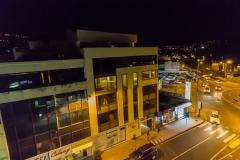 Ambato - Blick aus dem Hotelzimmer bei  Nacht