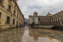 Bogotá - Am Plaza de Bolívar.