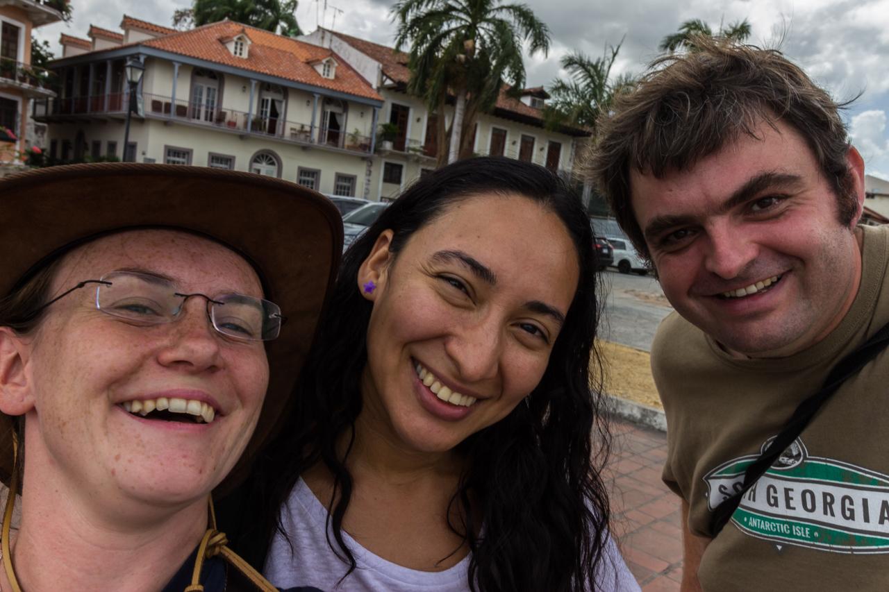 Panama City - Zusammen unterwegs mit Yauri
