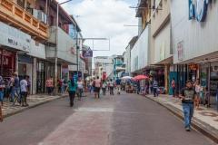Panama City - mal eine Straße ohne Verkehr