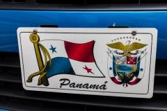 Panama City - lustige KFZ-Kennzeichen