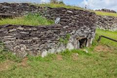 """Osterinsel - Orongo - Ruinen eines Dorfs der """"Birdman""""-Kultur"""