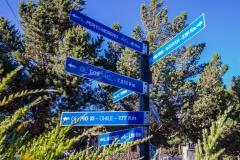 El Calafate - Neuseeland im März ist noch 8000 km weit weg :-)