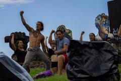 Osterinsel - Hanga Roa: letzte Proben für das Tapati