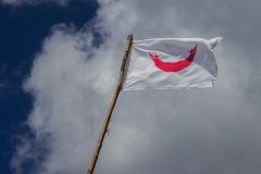 die Fahne der Osterinsel