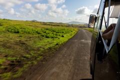 Rapa Nui - mit dem Bus über die Insel