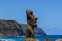 Rapa Nui - Tongariki - größte wieder aufgebaute Moai-Plattform