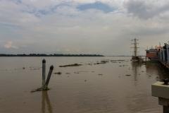 Guayaquil - Blick auf den Rio Guayas