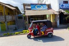Puerto Lopez - Motor-Rikscha