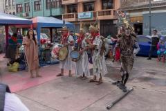 Riobamba - auf einem Marktplatz