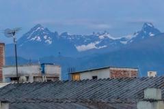 Riobamba - die Anden immer im Blick