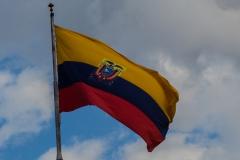 Riobamba - die peruanische Fahne