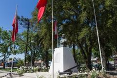 Im Park von Talca.