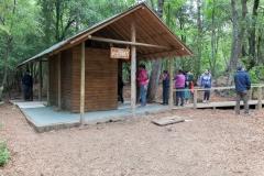 Im Nationalpark Siete Tazas - Anstehen beim Klo wie überall.