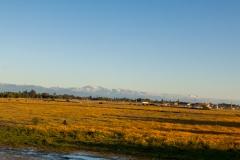 Im Hintergrund sind die Anden schon erkennbar.