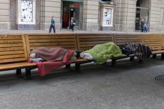 Obwohl Chile eine Industrienation, gibt es hier mehr sichtbare Armut als in Cuba...