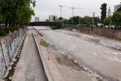 Der Río Mapocho