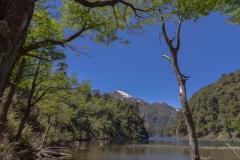Im Nationalpark Huerquehue - Während des Abstiegs