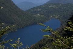 Im Nationalpark Huerquehue - super Ausblicke auf den Vulkan Villarrica