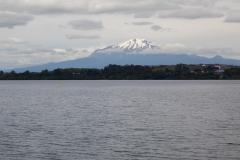 Puerto Varas - Blick auf den Vulkan Osorno, jedenfalls fast.