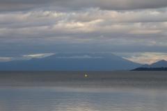 Puerto Varas - der letzte Blick auf den Vulkan, bevor er ganz in den Wolken verschwand