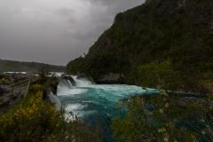Saltos del Petrohué - und dann wird es richtig viel Wasser