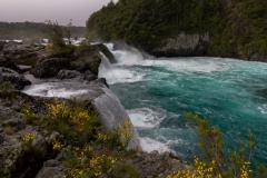 Saltos del Petrohué - am Ende des Wasserfalls