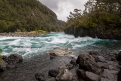 Saltos del Petrohué - die Stromschnelle