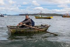 Chiloé - Cailin - während der Fahrt zur kleinen Insel