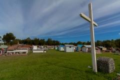 Chiloé - Cailin - der Friedhof ist etwas besonderes