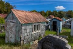 Chiloé - Cailin - weil der Regen die Gräber sonst ausspülen würde