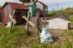 Chiloé - Cailin - und sehr sehr alte Gräber