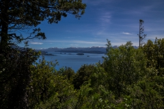 Bariloche - Park Llao Llao - wobei die Aussicht immer besser wird
