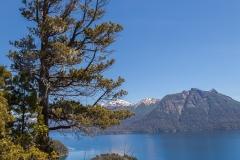Bariloche - Park Llao Llao - Blick auf einen Nebenarm des Lago Nahuel Huapi