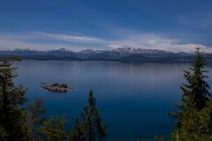 Bariloche - Park Llao Llao - einsame Inseln im See