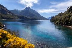 Bariloche - Park Llao Llao - und man kommt an die Puente Arroyo La Angostura