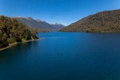 Straße der sieben Seen - Provinz Neuquén in Argentinien - Lago Correntoso in die andere Richtung