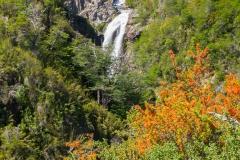 Straße der sieben Seen - Provinz Neuquén in Argentinien - Cascada Vullignanco