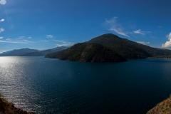 Straße der sieben Seen - Provinz Neuquén in Argentinien - noch mal der Lago Lácar