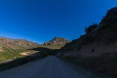 Ruta 63 zum Paso Córdoba, Argentinien - immer weiter hoch