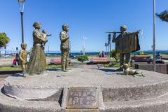 Das Einwandererdenkmal in Puerto Montt